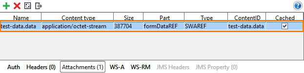 WSDL testing: Request settings for swaRef attachments